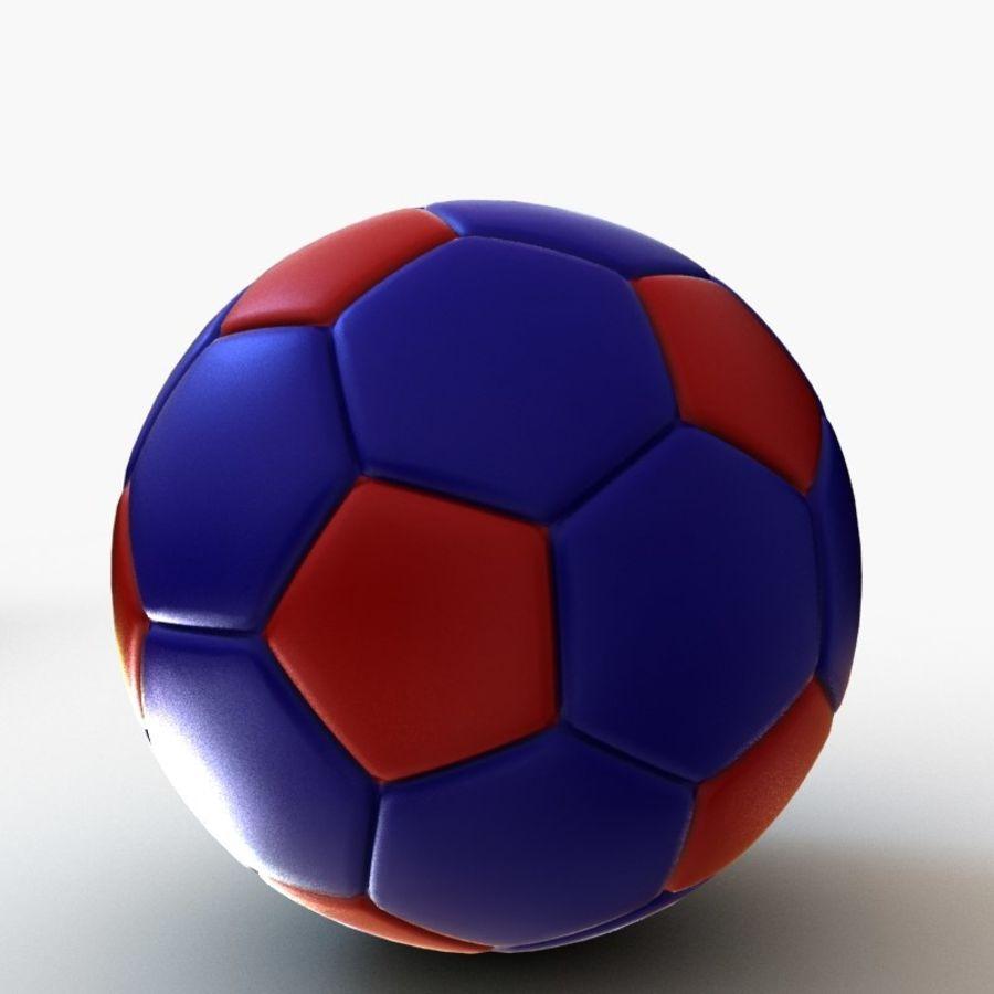 Palloni da calcio royalty-free 3d model - Preview no. 12