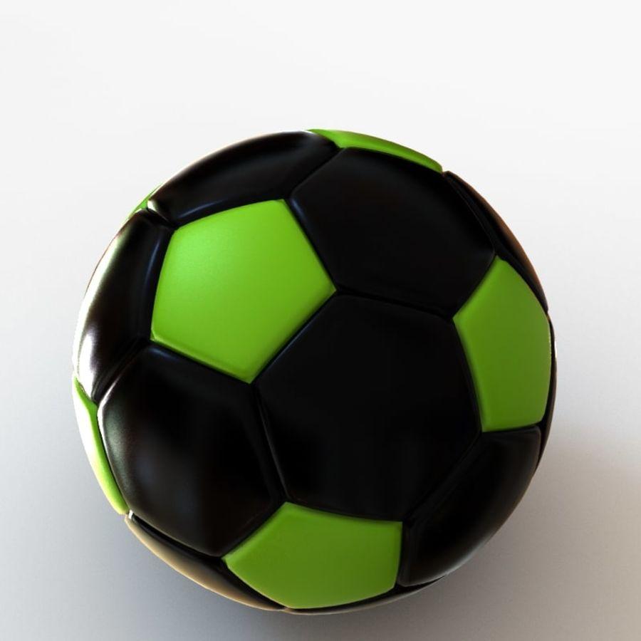 Palloni da calcio royalty-free 3d model - Preview no. 10