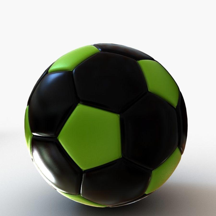 Palloni da calcio royalty-free 3d model - Preview no. 9