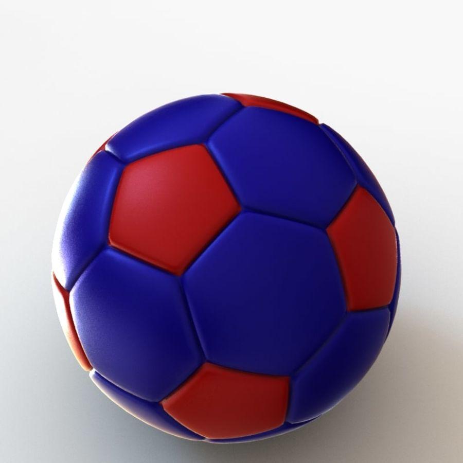 Palloni da calcio royalty-free 3d model - Preview no. 13