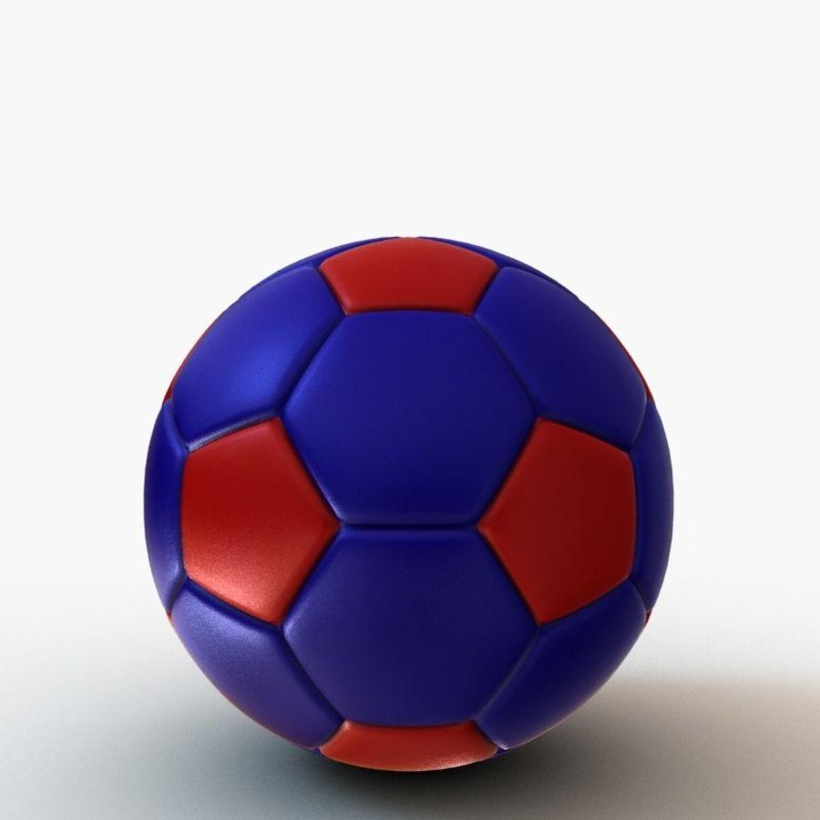 Palloni da calcio royalty-free 3d model - Preview no. 11