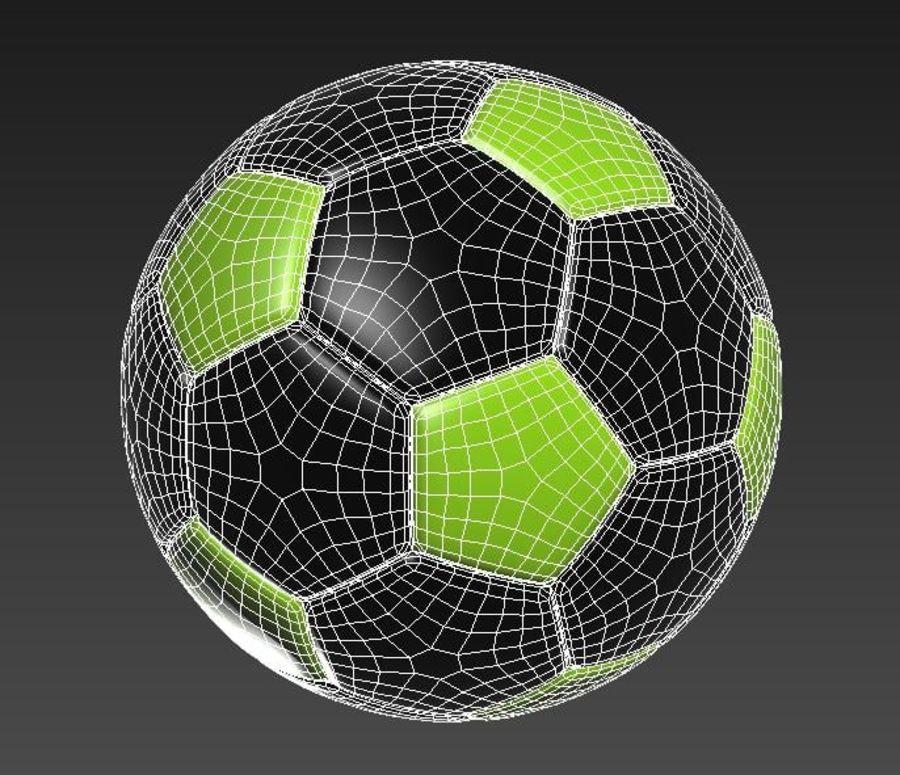 Palloni da calcio royalty-free 3d model - Preview no. 3