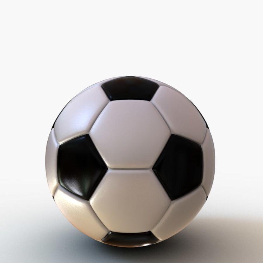 Palloni da calcio royalty-free 3d model - Preview no. 5