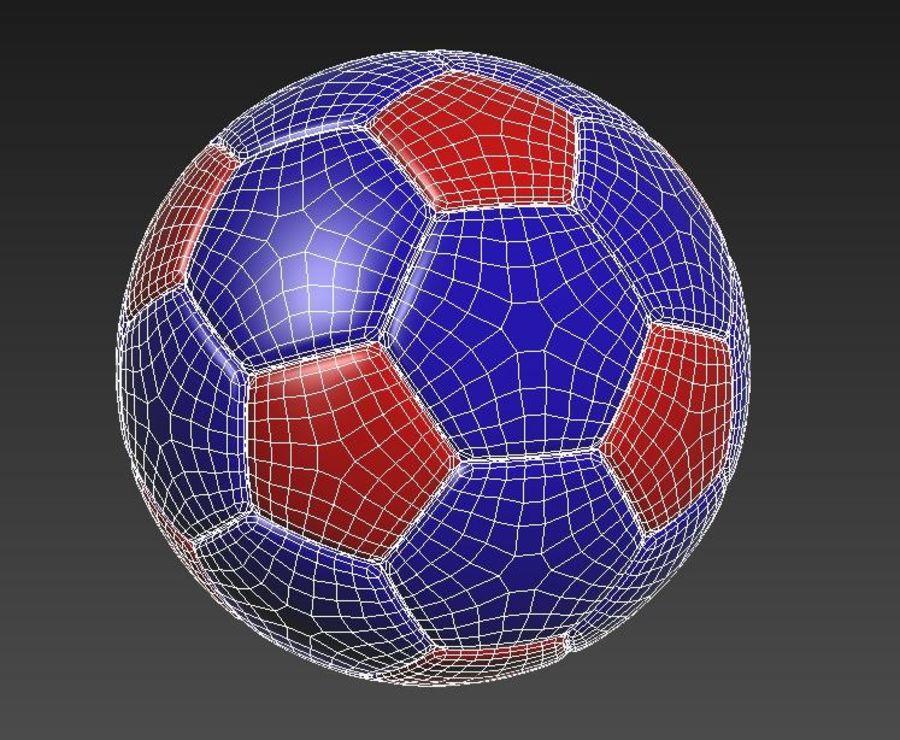 Palloni da calcio royalty-free 3d model - Preview no. 4