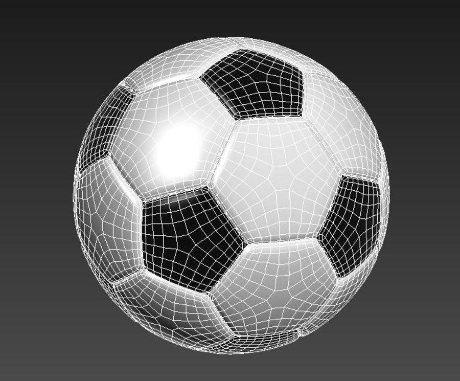 Palloni da calcio royalty-free 3d model - Preview no. 2