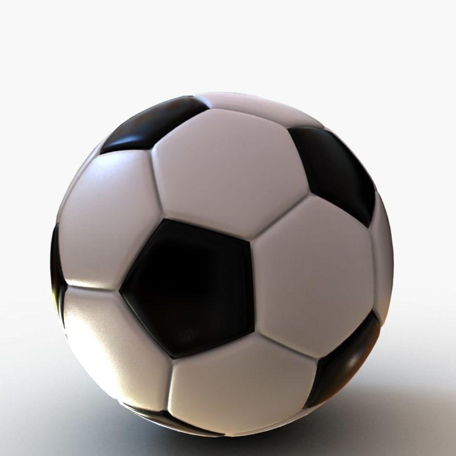 Palloni da calcio royalty-free 3d model - Preview no. 6