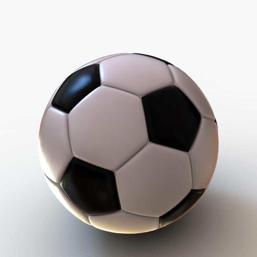 Palloni da calcio royalty-free 3d model - Preview no. 7