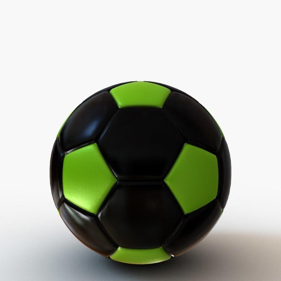 Palloni da calcio royalty-free 3d model - Preview no. 8