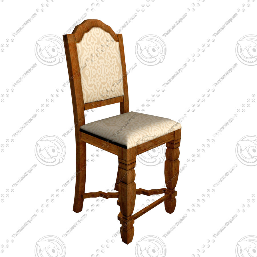 Chair01 royalty-free 3d model - Preview no. 3