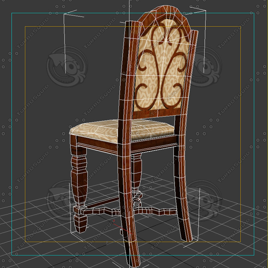 Chair01 royalty-free 3d model - Preview no. 8