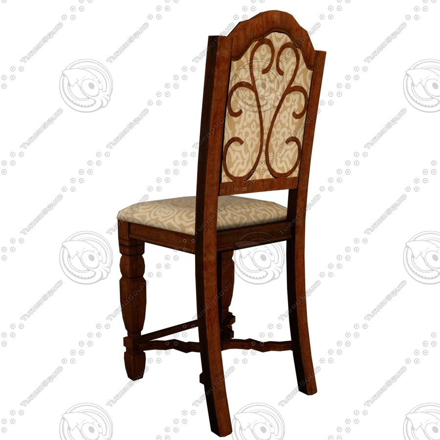Chair01 royalty-free 3d model - Preview no. 4