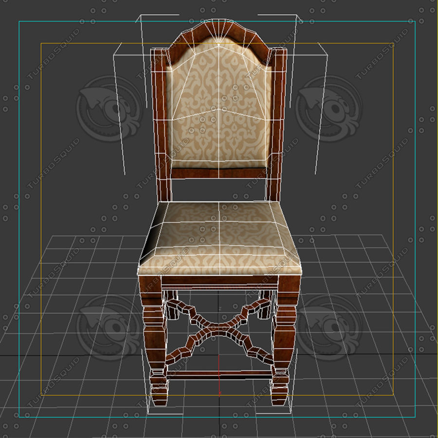 Chair01 royalty-free 3d model - Preview no. 2