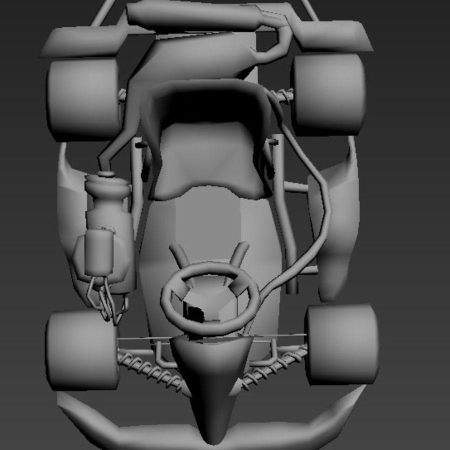 Kart royalty-free 3d model - Preview no. 6