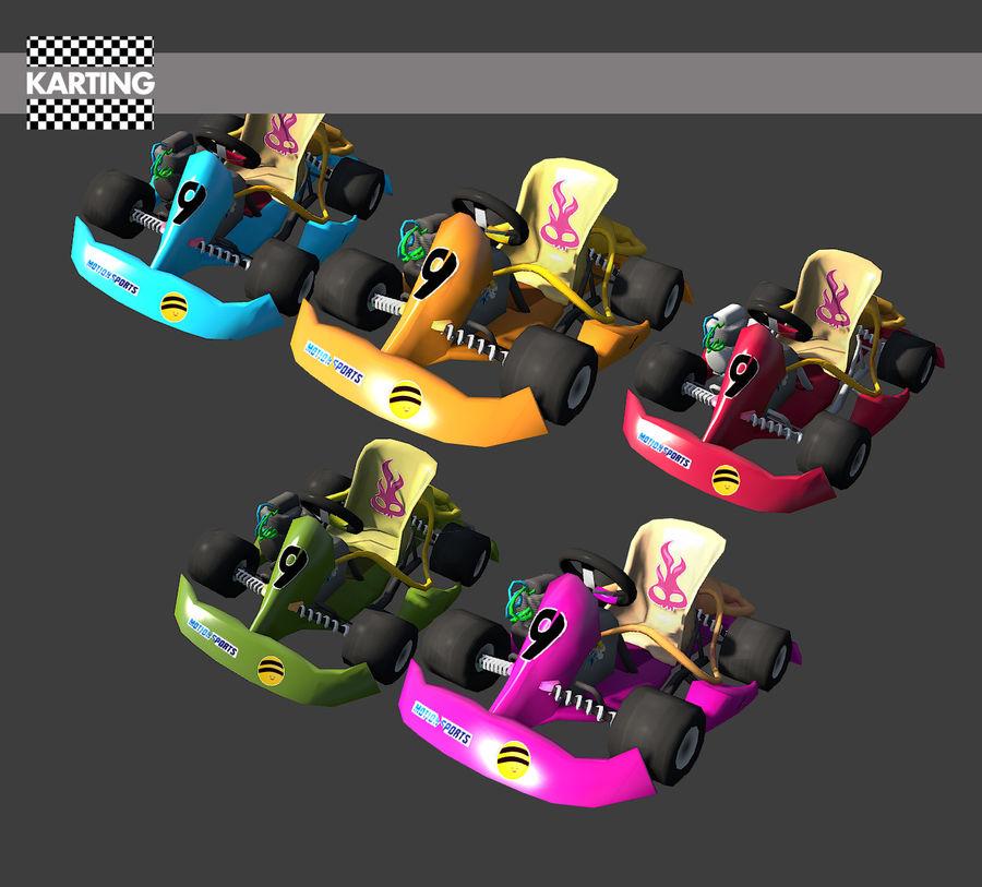 Kart royalty-free 3d model - Preview no. 3