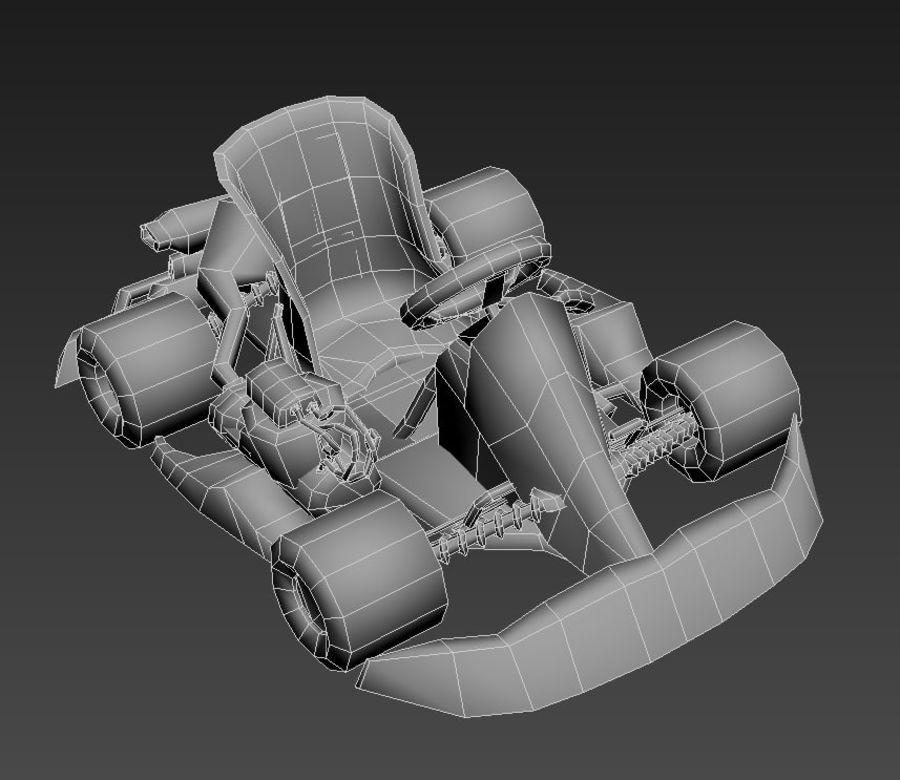 Kart royalty-free 3d model - Preview no. 7