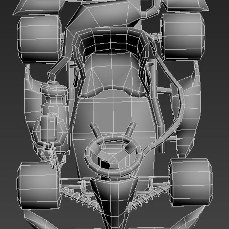 Kart royalty-free 3d model - Preview no. 8