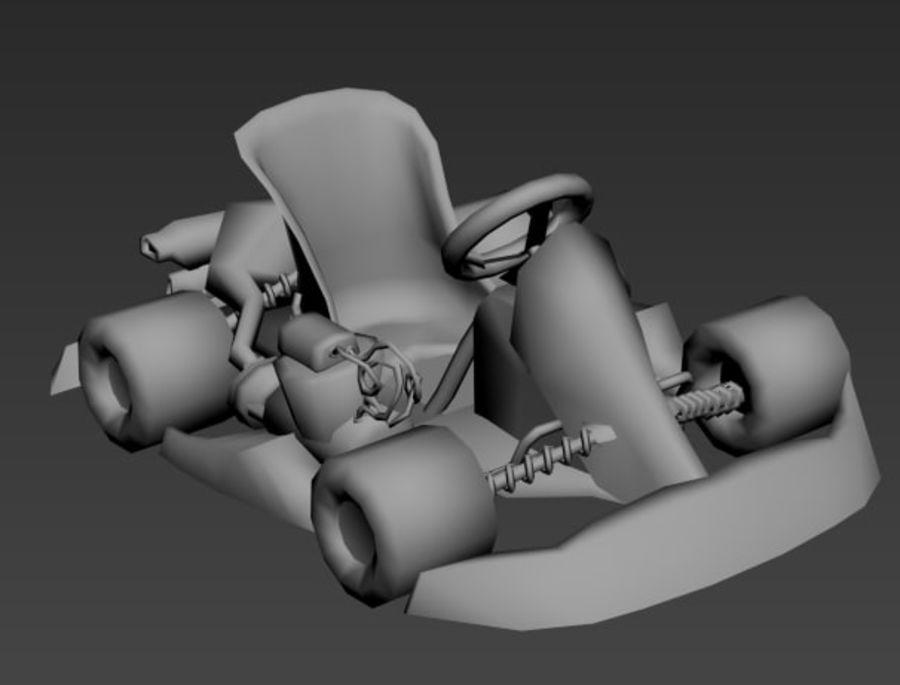 Kart royalty-free 3d model - Preview no. 9