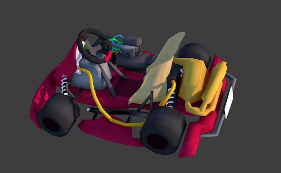 Kart royalty-free 3d model - Preview no. 4