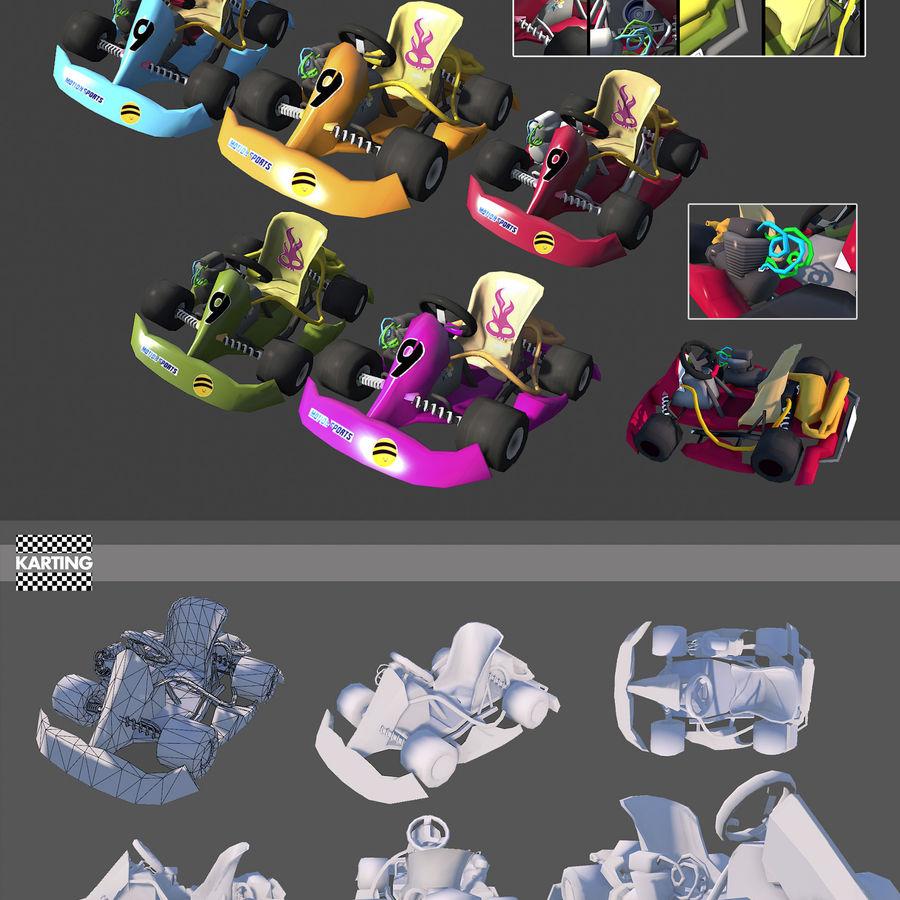 Kart royalty-free 3d model - Preview no. 1