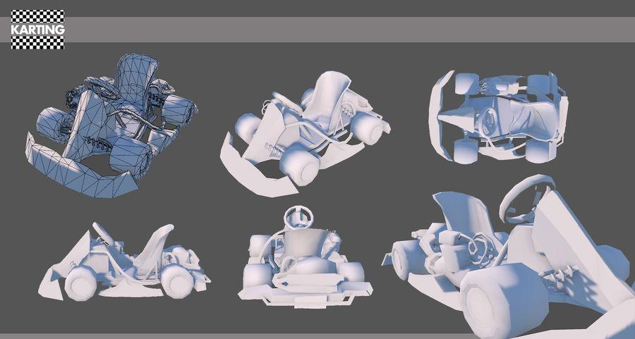 Kart royalty-free 3d model - Preview no. 2