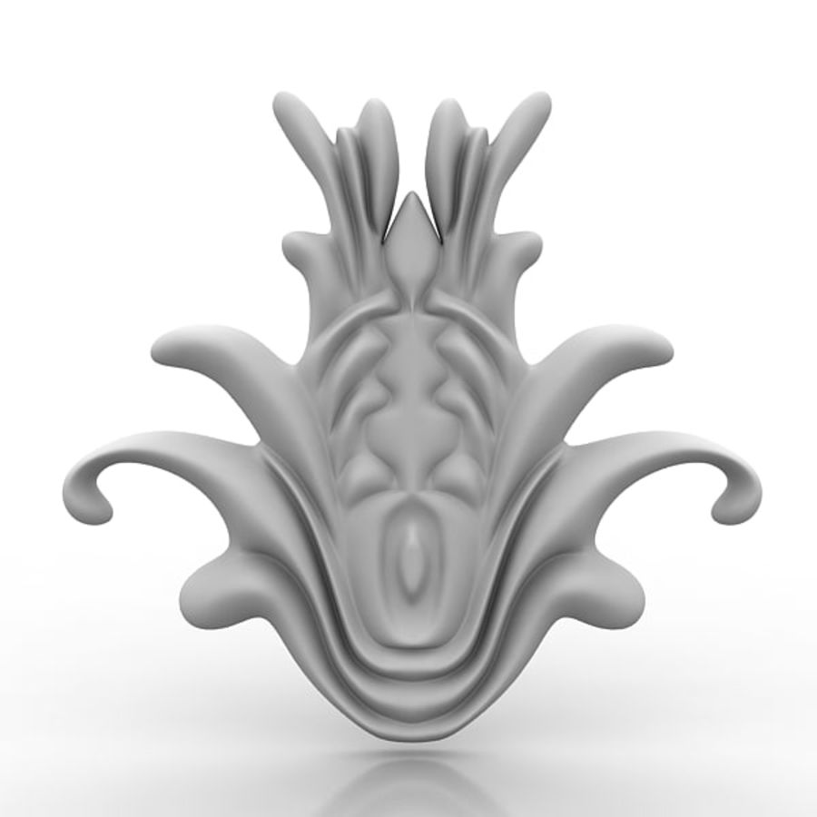 建筑元素76 royalty-free 3d model - Preview no. 1