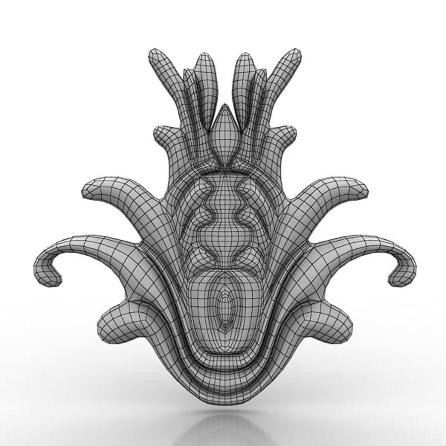 建筑元素76 royalty-free 3d model - Preview no. 4