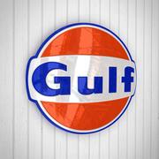 Petróleo del Golfo modelo 3d