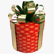 Cylinder Gift Box 3d model