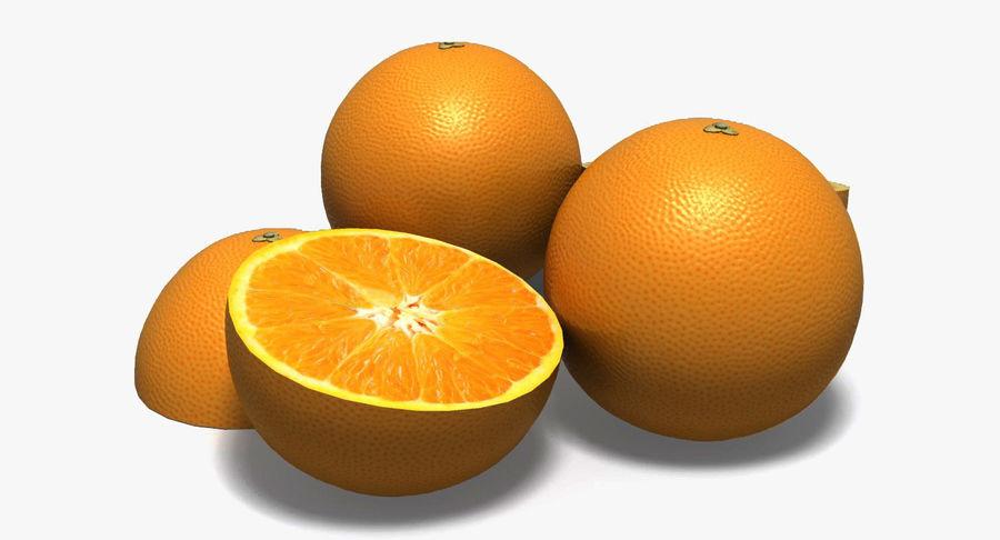 Orange royalty-free 3d model - Preview no. 1