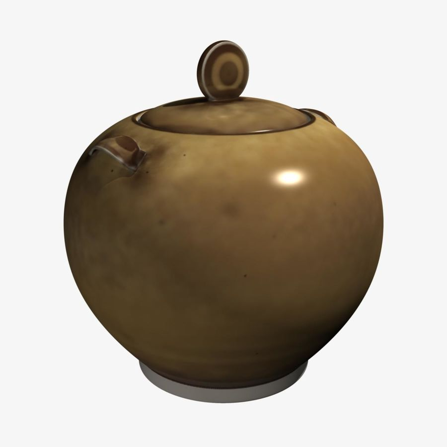 Cookie Jar royalty-free 3d model - Preview no. 1