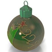 Bola de enfeite de Natal 3d model