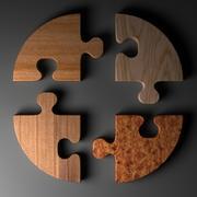 Circle Puzzle A modelo 3d