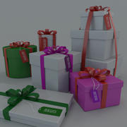 Christmas Presents gifts 3d model