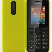 Nokia 108 Dual Sim Желтый 3d model