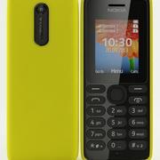 Nokia 108 Dual Sim Yellow 3d model