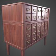 골동품 순환 상자 3d model
