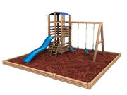 Backyard Playground or playset 3d model