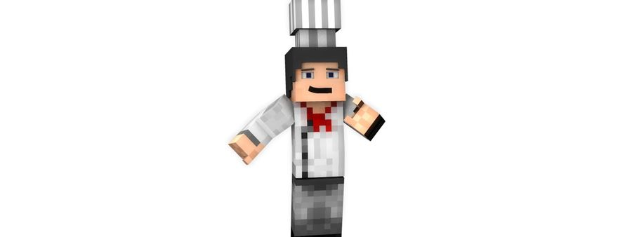Minecraft Chef [V2.0] royalty-free 3d model - Preview no. 2