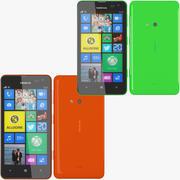 Nokia Lumia 625  Nokia Lumia 625 Red 3d model