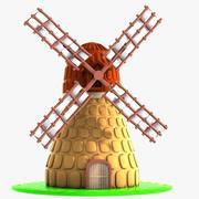 Cartoon Mill 2 3d model