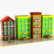 Cartoon Street 1 3d model