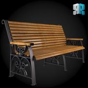 Bench 008 3d model