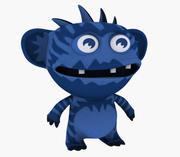 Avatar Cartoon monstr 3d model