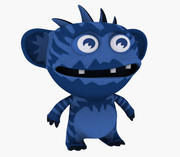Avatar Cartoon monstr 3d model