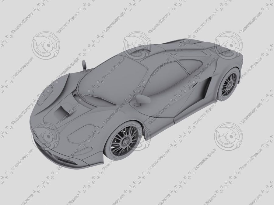 Car_02 royalty-free 3d model - Preview no. 4