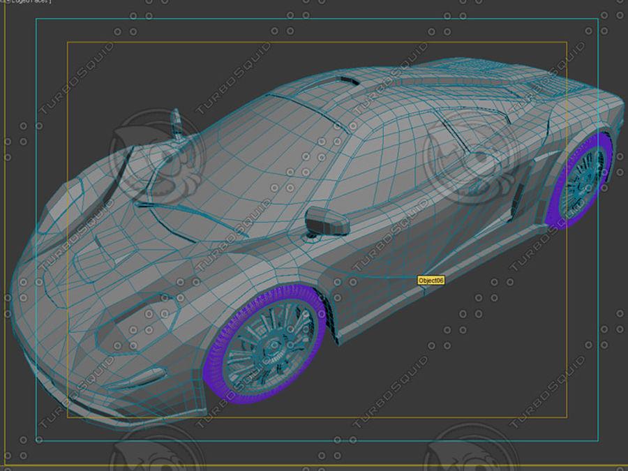 Car_02 royalty-free 3d model - Preview no. 12