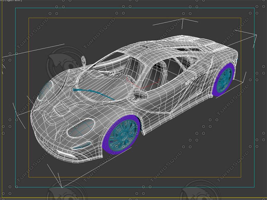 Car_02 royalty-free 3d model - Preview no. 9