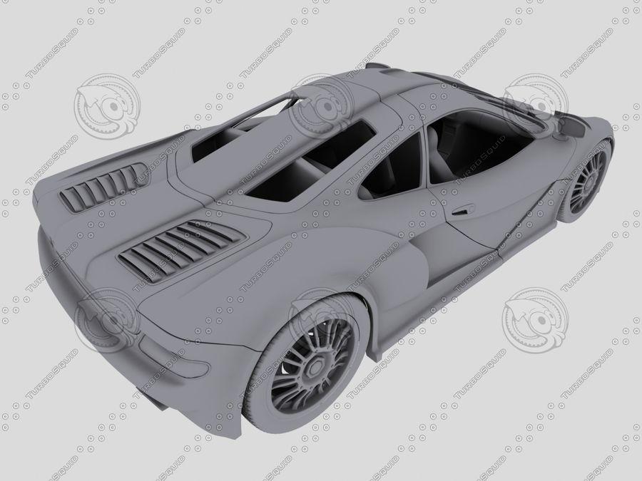 Car_02 royalty-free 3d model - Preview no. 8