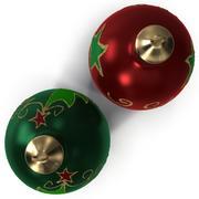 Bolas de enfeite de Natal 3d model