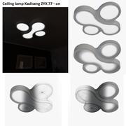 Taklampa Kadiseng ZYX 77 - stråla på 3d model